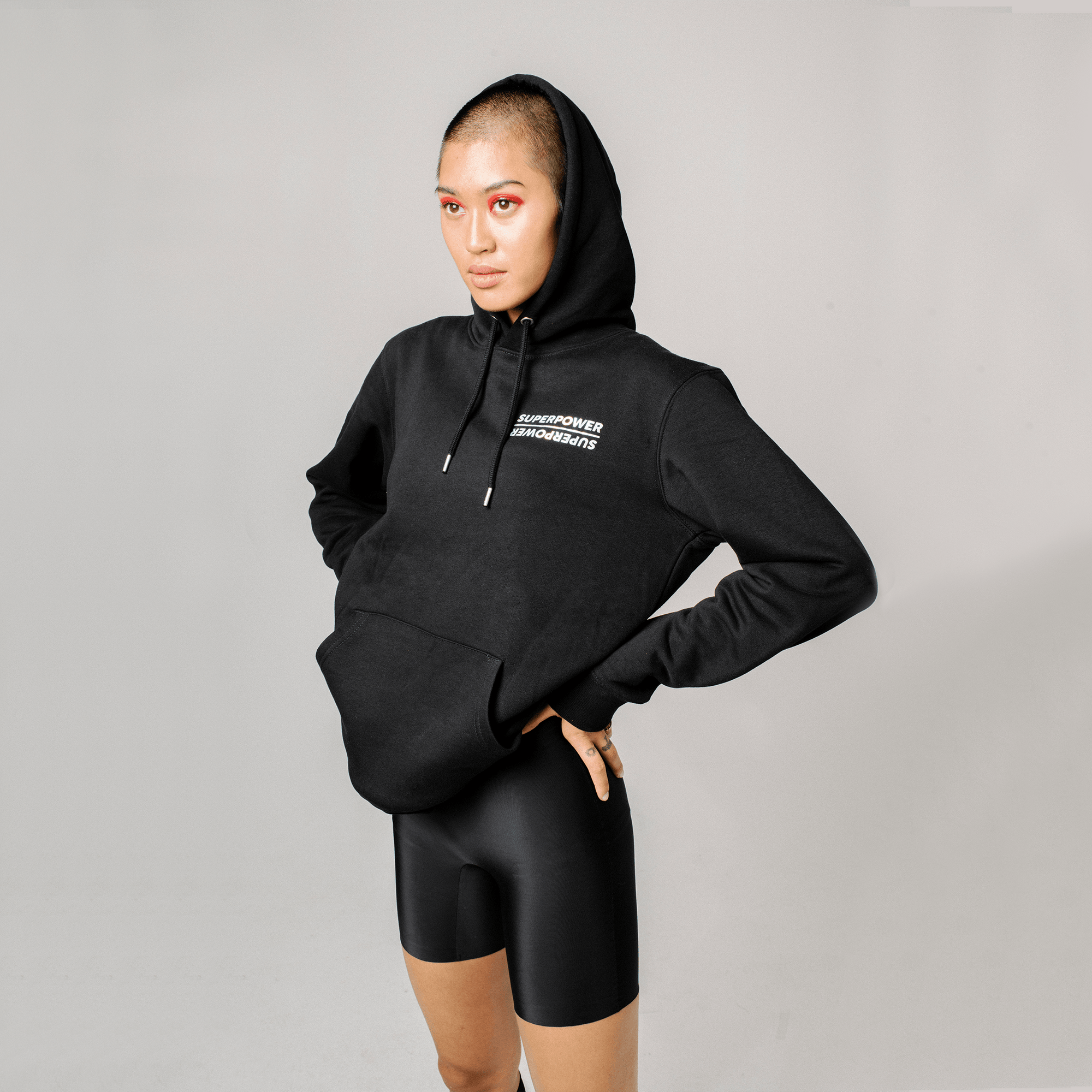STUDIO O Superpower Unisex Brushed Hoodie