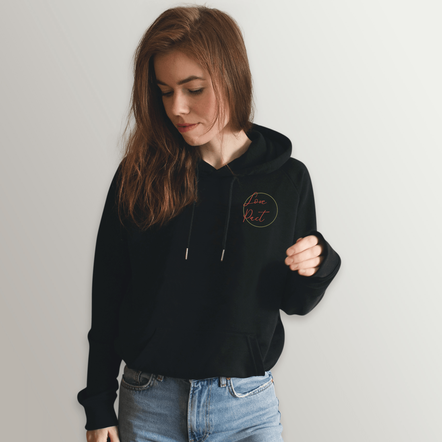 Bohemian_Daydreamer Circle Lovesome Raglan Hoodie