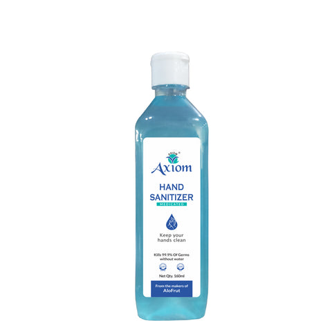 Axiom Medicated Hand Sanitizer 160ml(Pack of 2)