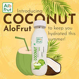 AloFrut Tender Coconut Water 200ml | Rich Source of Potassium | Natural Source of 5 Essential Electrolytes | No Added Sugar, Artificial Flavour & Colour | Zero Fat & Cholesterol | Pack of 24