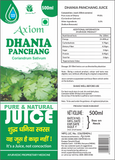 Dhania Juice Immunity Booster | WHO-GMP,GLP,ISO Certified 100 % Natural Products