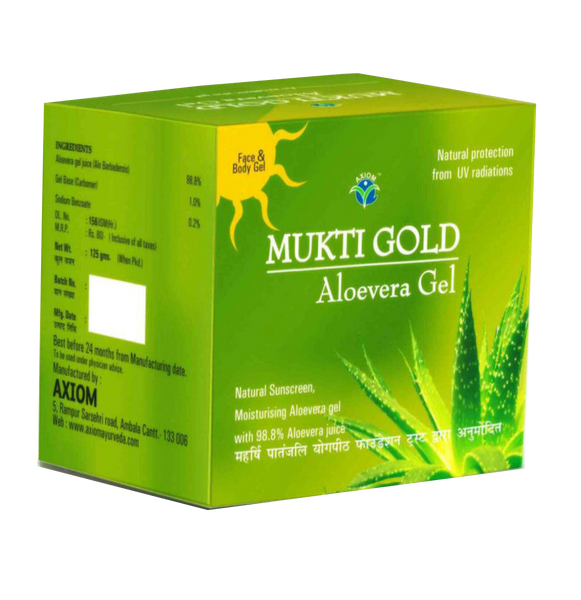 Mukti Gold Green Gel