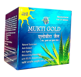 Mukti Gold Blue Gel