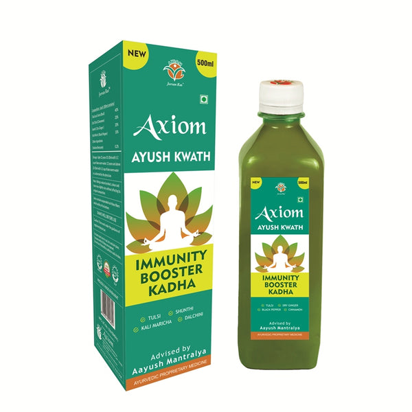 Axiom Immunity Booster Kadha 500ml(Ayush Kwath)