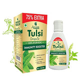 Axiom Panch Tulsi Drops 75% Extra | Immunity Booster | Cough and Cold Reliver | Blend of 5 Tulsi i | WHO - GLP,GMP,ISO Certified | No Added Colour | Pack of 2