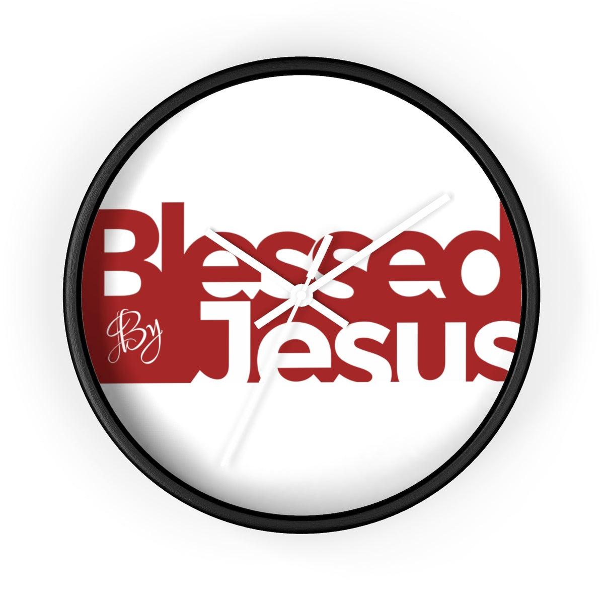 Blessed by Jesus - Wall clock