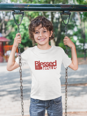 Blessed by Jesus - Toddler t-shirt / Kids