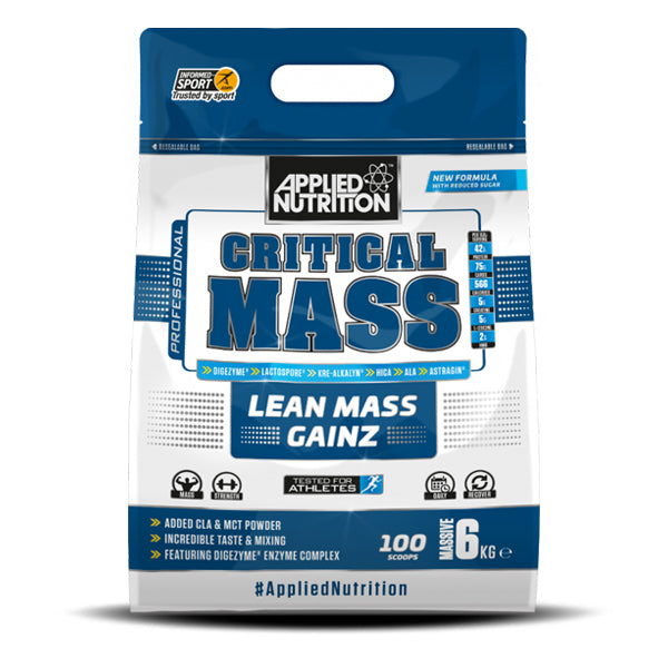 APPLIED NUTRITION CRITICAL MASS LEAN MASS GAINZ