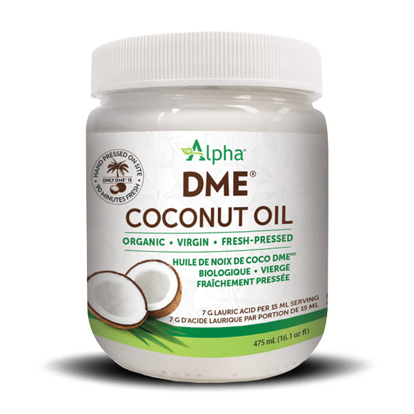 NATURAL FACTORS ALPHA DME COCONUT OIL 475 ML