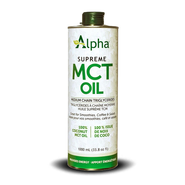 NATURAL FACTORS ALPHA'SUPREME MCT OIL 500 ML