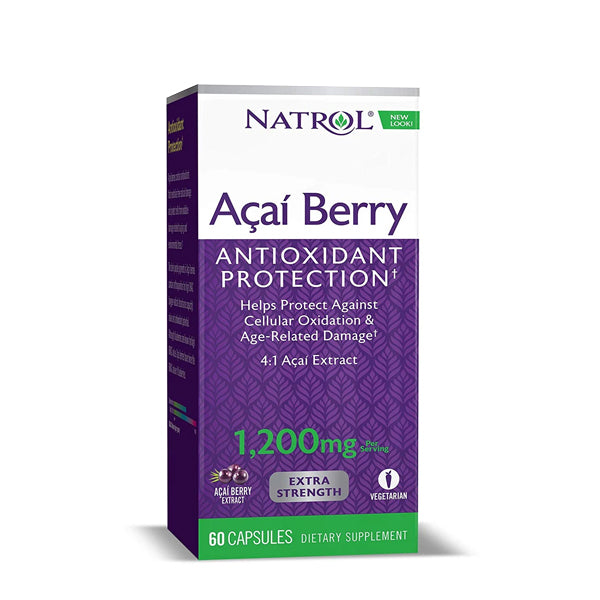 NATROL ACAIBERRY EXTRA STRENGTH 1200 MG