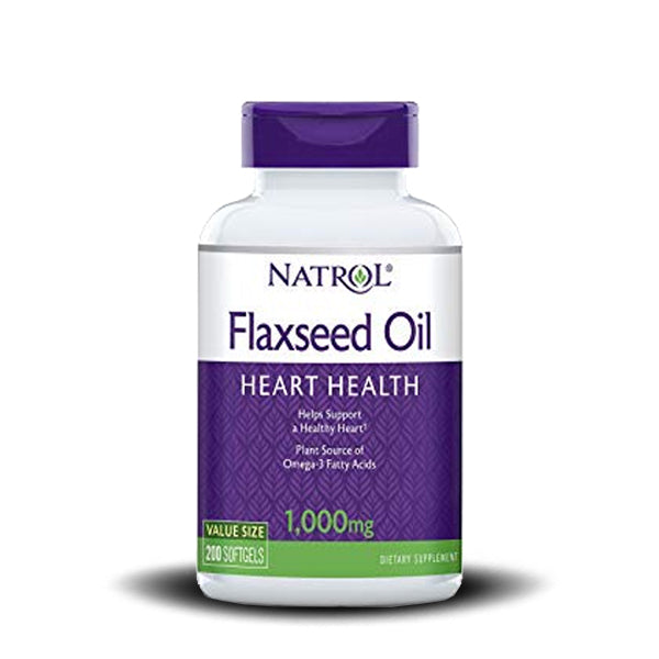 NATROL FLAX SEED OIL 1000 MG 90 SOFT GEL