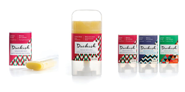 Lotion Sticks | Duckish Natural Skin Care