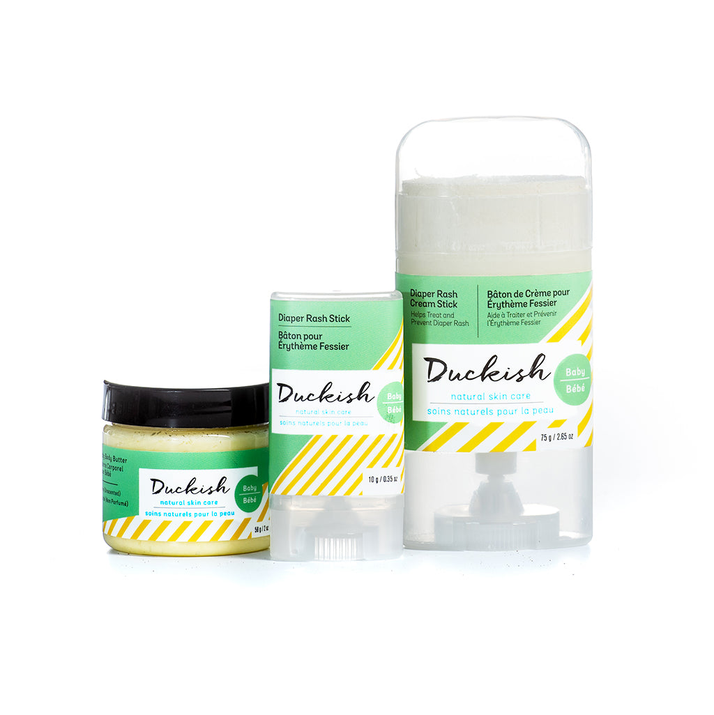 Baby Skin Care Set | Duckish Natural Skin Care