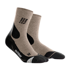 Women's Outdoor Merino Mid-Cut Socks