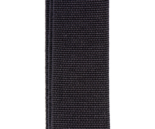 Merino Wool Guitar Strap, Black