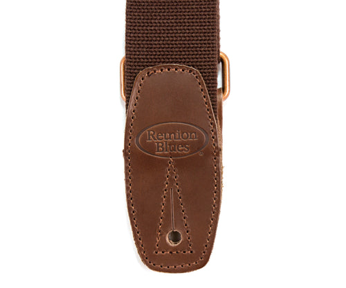 Merino Wool Guitar Strap, Brown