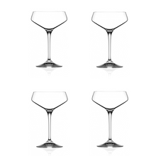 Aria Crystal Champagne Coupe Glasses