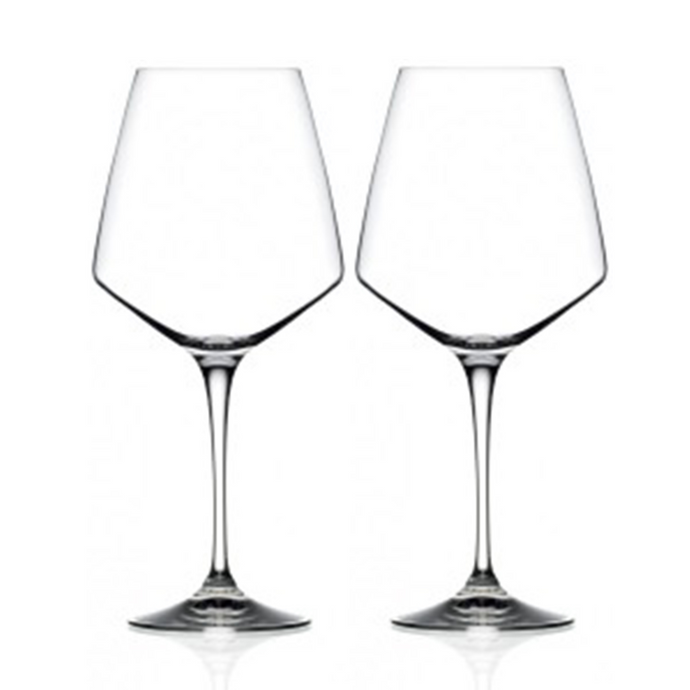 Aria Crystal Red Wine Glasses