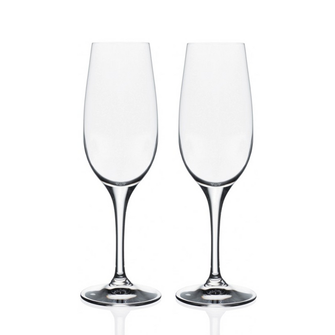 Daily Crystal Champagne Flute Glasses