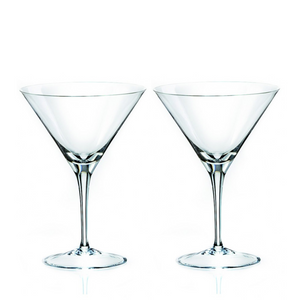 Invino Crystal Martini Glasses