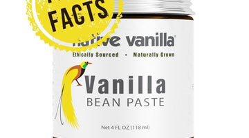 Fast Facts with Vanilla Bean Paste in 3, 2, 1… Action!