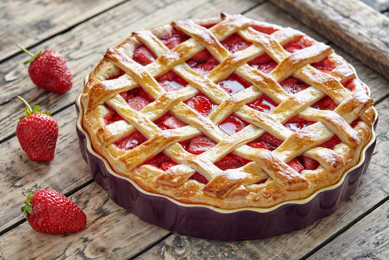 Strawberry Vanilla Bean Pie | Native Vanilla
