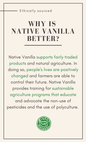 All Natural Pure Vanilla Bean Paste - Native Vanilla