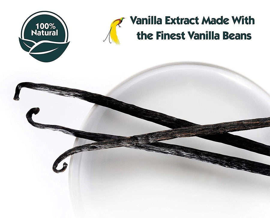 All Natural Vanilla Bean Paste and Pure Vanilla Extract (Combo Pack) - Native Vanilla