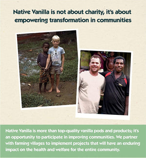 Native Vanilla Pure Vanilla Extract – Made from Premium Vanilla Bean Pods - Native Vanilla