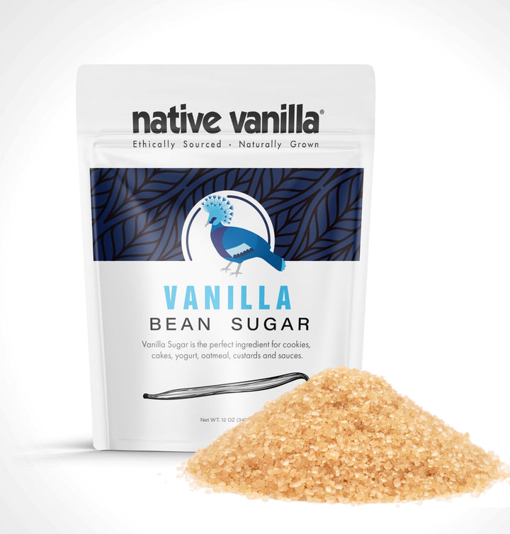 Organic Vanilla Bean Sugar - Made with Real Vanilla Beans - Native Vanilla