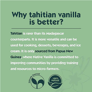 why choose Tahitian vanilla from Papua New Guinea