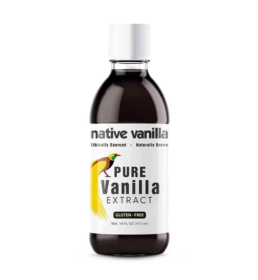 Pure Vanilla Extract – Made from Premium Vanilla Bean Pods - Native Vanilla