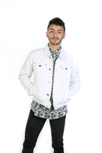 Load image into Gallery viewer, WHITE DENIM JACKET