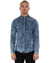 Load image into Gallery viewer, BLEACHED DENIM TOP
