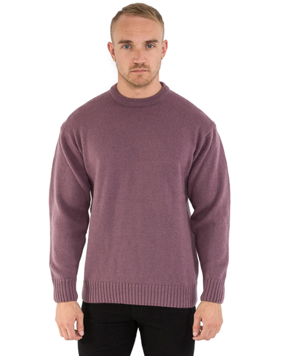 LILAC MERINO WOOL SWEATER