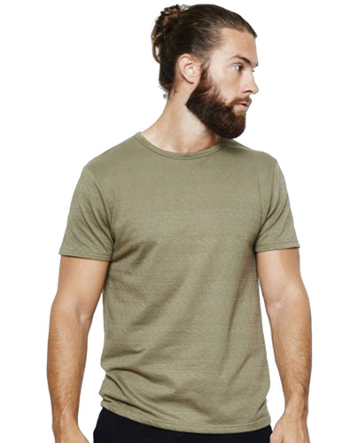 OLIVE GREEN EMBOSSED SHIRT