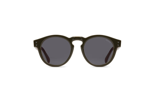 GREEN & BROWN RETRO SUNGLASSES