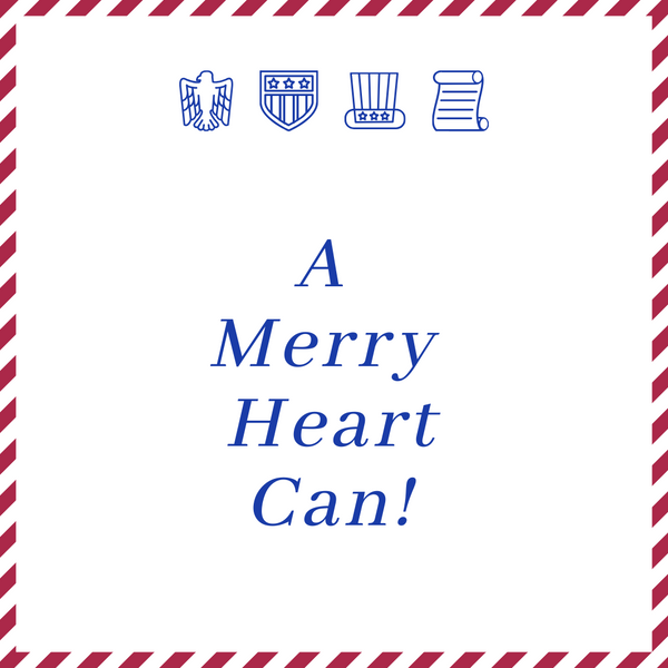 A Merry Heart Can! Word for the U.S.A