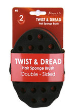 Load image into Gallery viewer, Kim_C Twist&Dread Sponge Brush [Double Sided] #E