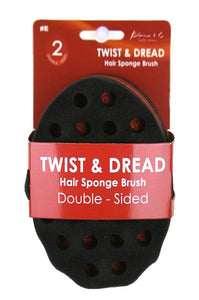 Kim_C Twist&Dread Sponge Brush [Double Sided] #C