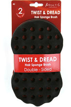 Load image into Gallery viewer, Kim_C Twist&Dread Sponge Brush [Double Sided] #J