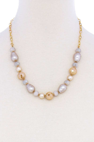 Modern Beaded Trendy Necklace