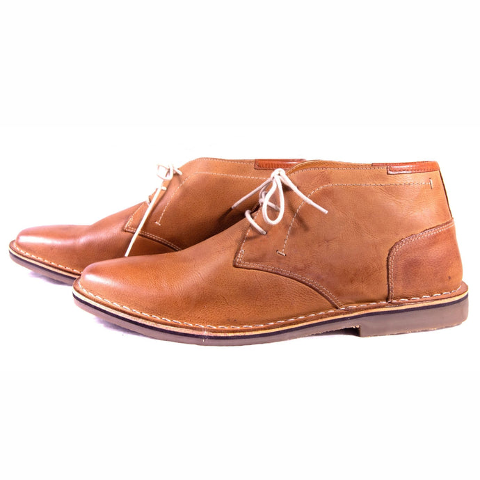 Men's Tan Leather Boot - Limber - Hello Quality Collection