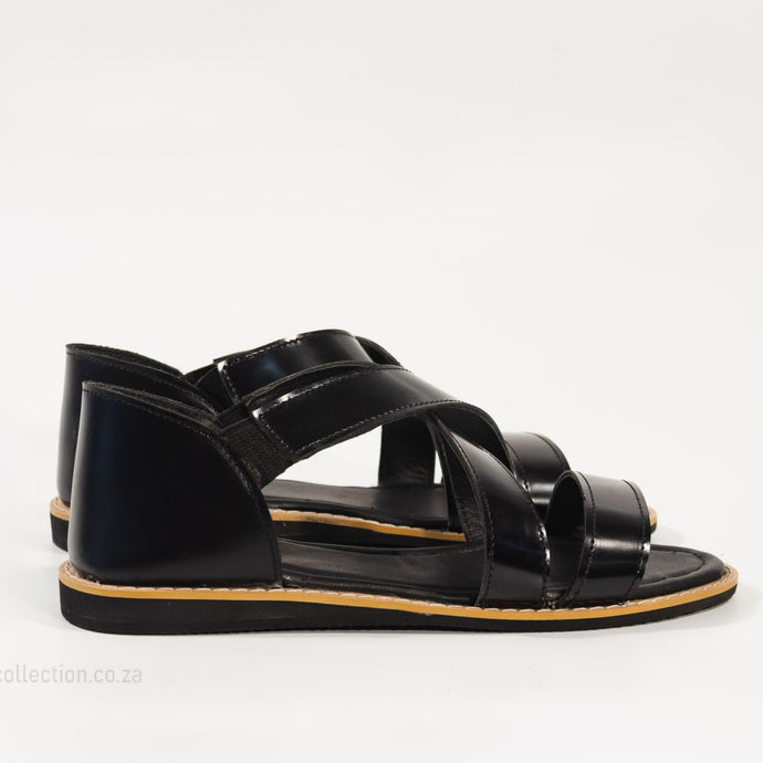 Benji Men's Slip on Leather Shoes - Boots For Sale