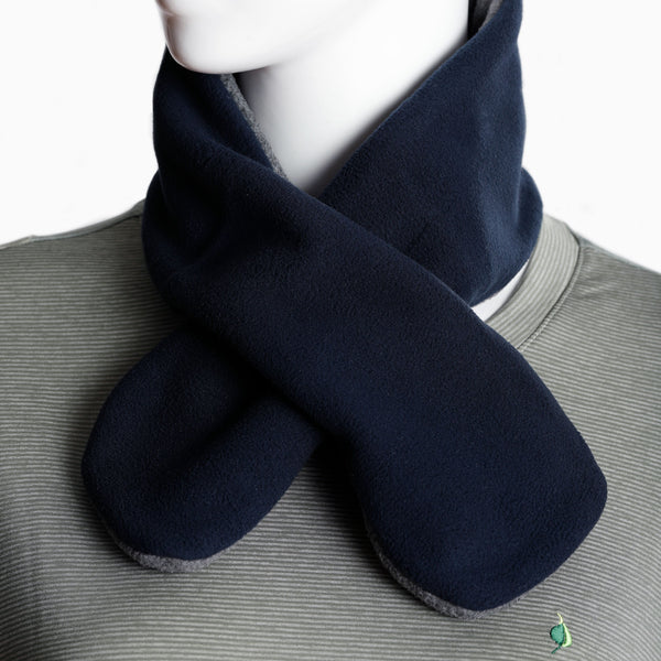 Scarf With Hand Warmer Pocket