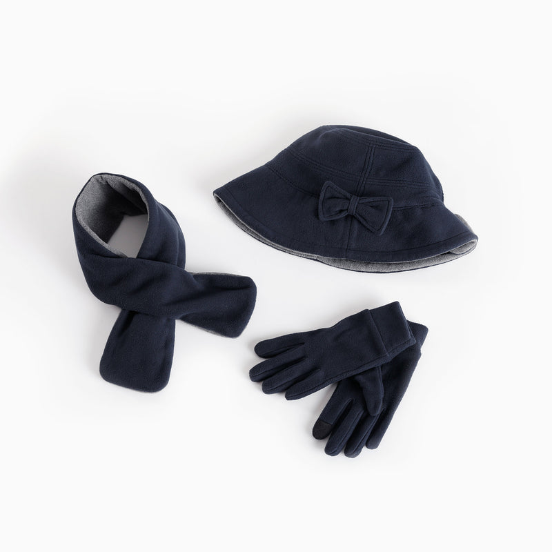 Warm Hearts 3-Piece Gift Set (Hat, Scarf, Gloves)