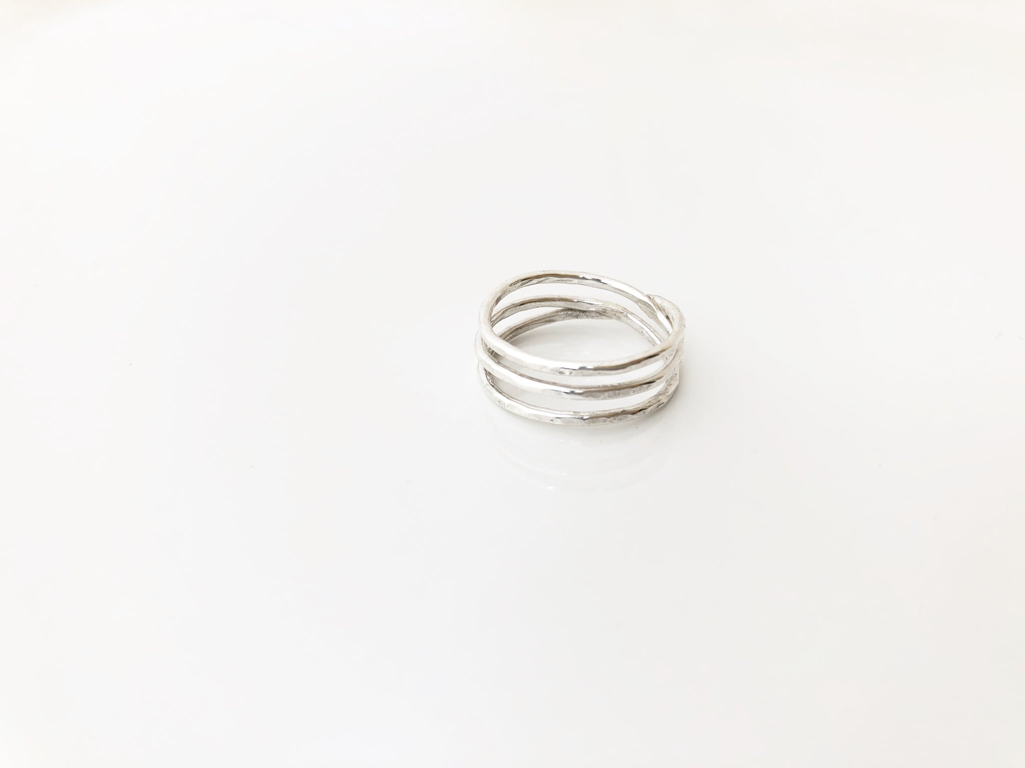 Nelson Ring in Silver