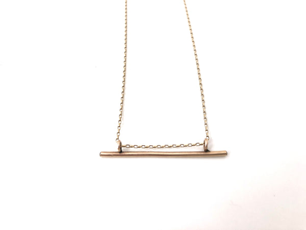 Small Nootka Necklace in Gold