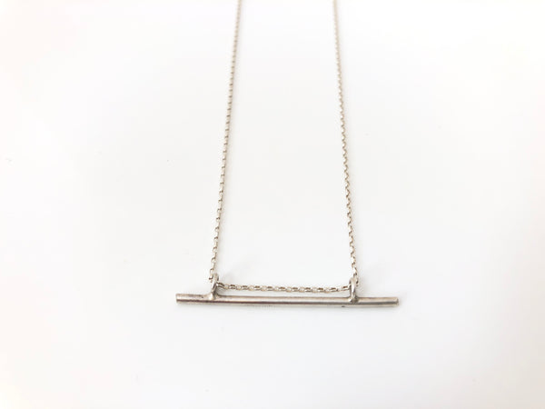 Small Nootka Necklace in Silver